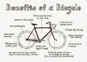 benifits of a bike
